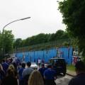 Fans aller Coleur kamen in Strömen