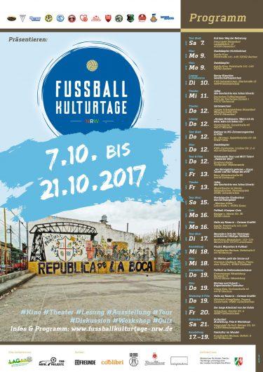 Plakat Fussball-Kulturtage NRW 2017 JPG