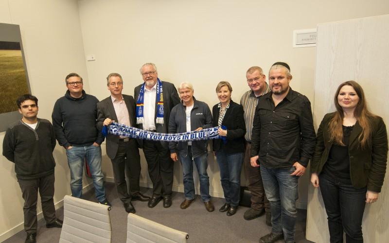 Besuch beim Königsblauen Landtag