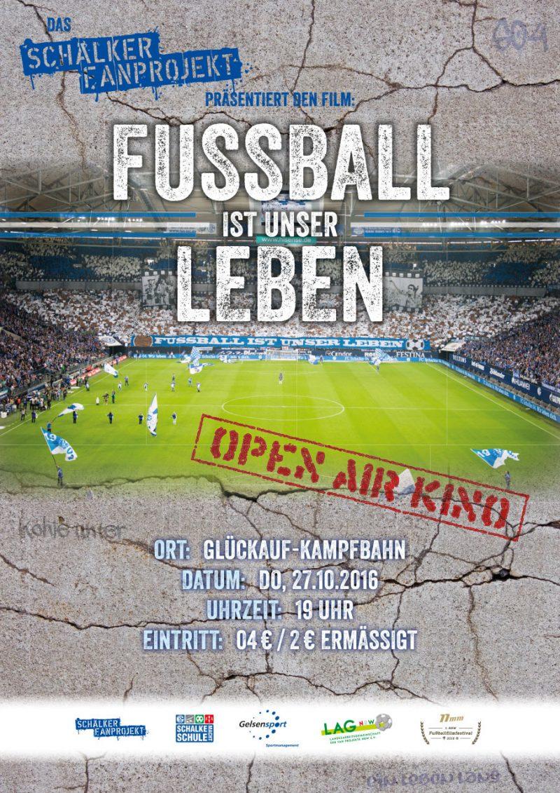 """Das Schalker Fanprojekt präsentiert: """"Das erste 11mm NRW Fußballfilmfestival"""""""