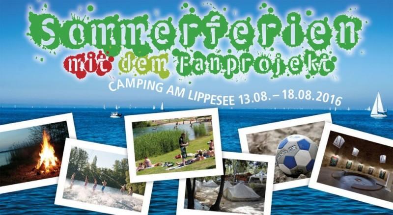 Sommercamp mit dem Fanprojekt vom 13. bis 18. August