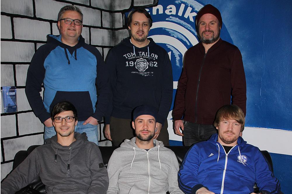 Teamfoto Schalker Fanprojekt